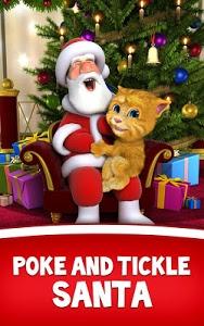 screenshot of Talking Santa meets Ginger + version 2.0