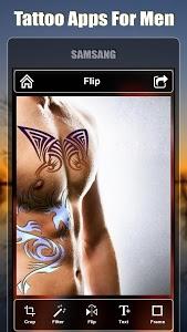 screenshot of Tattoo design apps for men version 1.5