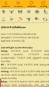 Download Telugu Calendar Panchang 2018 1.4.5 APK
