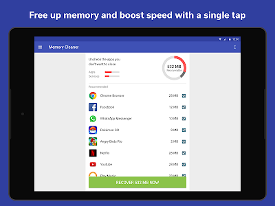 Download The Cleaner - Speed up & Clean 1.8.10 APK