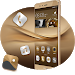 Download Theme for Huawei P8 & P10 Gold Wallpaper Icon Pack 1.0.3 APK