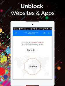 screenshot of Touch VPN -Free Unlimited VPN Proxy & WiFi Privacy version 1.4.9
