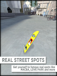 screenshot of True Skate version 1.4.30