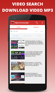 screenshot of Tube Video Downloader version 0.8.7