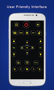 screenshot of Universal TV Remote Control version 1.0.23