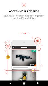 screenshot of Ubisoft Club version 5.6.0
