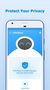 screenshot of VPN Robot - Free VPN Proxy version 1.0.6