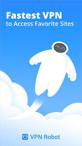 screenshot of VPN Robot -Free Unlimited VPN Proxy &WiFi Security version 1.2.1
