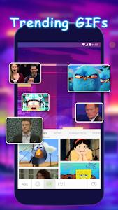 screenshot of Emoji Keyboard - Theme, Gif Emoji Keyboard version 95
