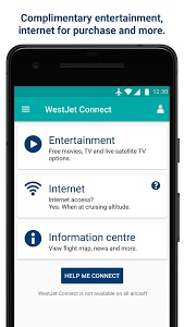 screenshot of WestJet version 3.10