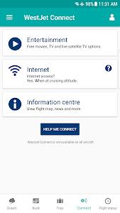 screenshot of WestJet version 3.2