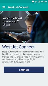 screenshot of WestJet version 2.1.1