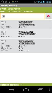 Download WiFi Key Recovery (needs root) 0.0.8 APK