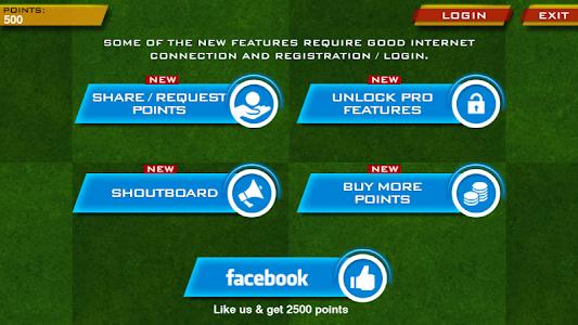 screenshot of World Cricket Championship Lt version 5.5.8