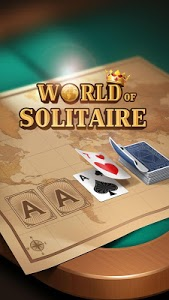 screenshot of World of Solitaire: Classic card game version 3.4.2