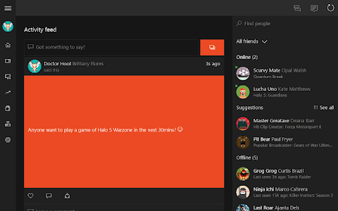 screenshot of Xbox version 1810.0102.1946