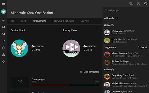 screenshot of Xbox version 1805.0814.0658