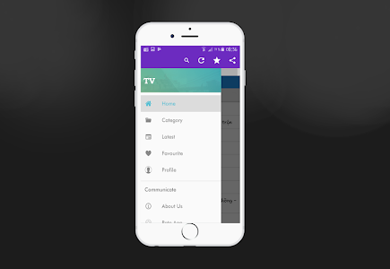 screenshot of TV Online Schedule - All TV Channels version 9.2