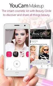 screenshot of YouCam Makeup- Makeover Studio version 4.10.1