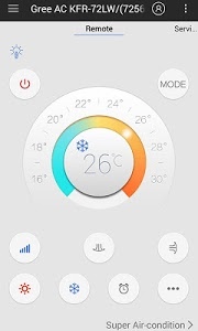 screenshot of ZaZaRemote-Universal Remote version 3.6.3