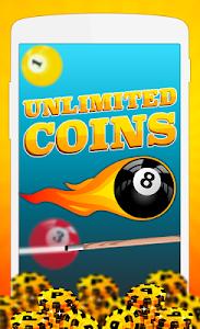Download coins for billiard prank 5.0 APK