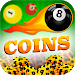 Download coins for billiard prank 5.0 APK