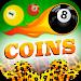 coins for billiard prank