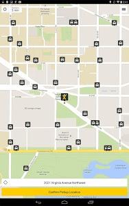 screenshot of mytaxi – The Taxi App version 5.0.4