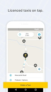 screenshot of mytaxi – Book fast and secure taxis with one tap version 7.22.3