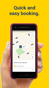 screenshot of mytaxi – Book fast & secure taxis with a tap version Varies with device