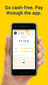 Download mytaxi – Book fast & secure taxis with a tap 7.28.0 APK